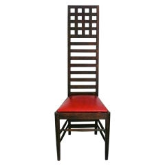 Architectural Ladder Back Chair