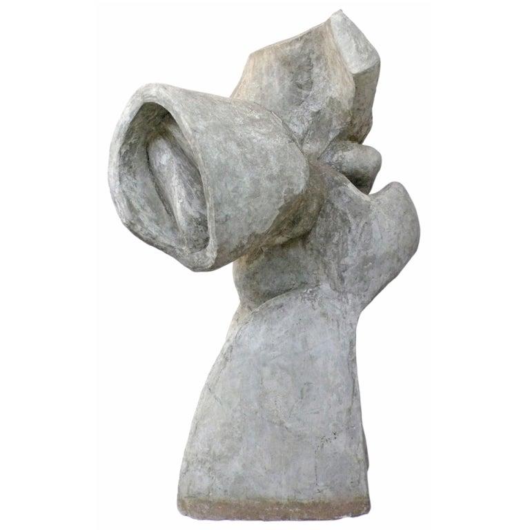 Large Biomorphic Concrete Sculpture At 1stdibs