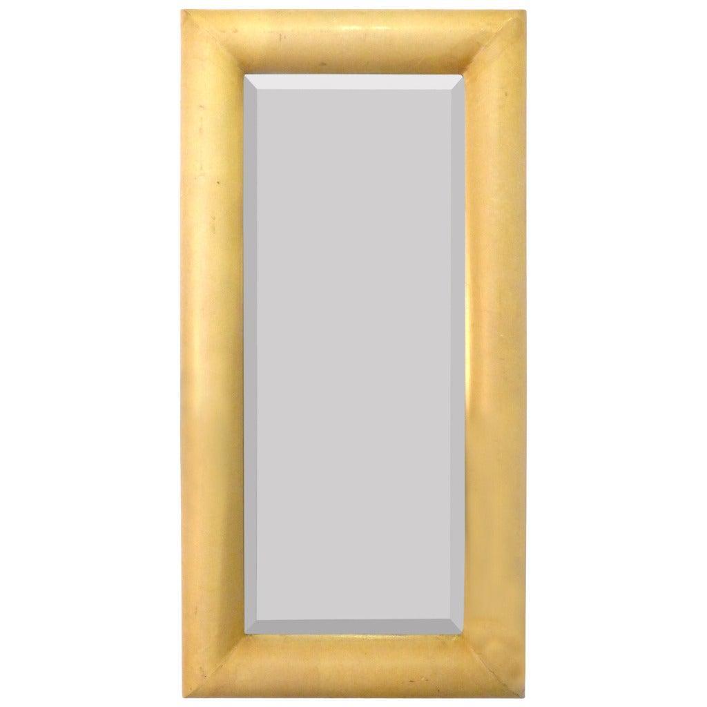 Elegant parchment mirror at 1stdibs for Elegant mirrors