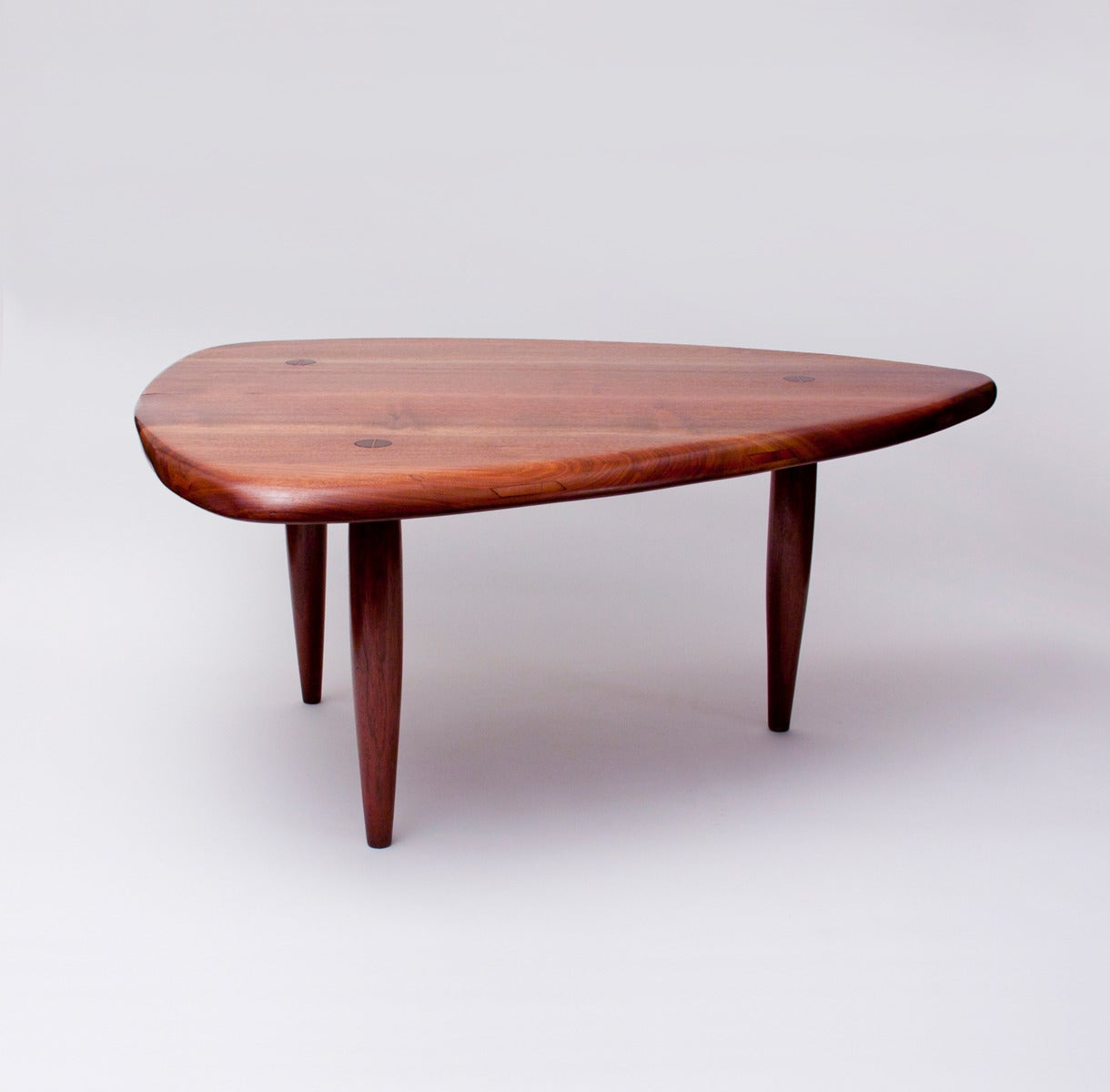 Sculpted Walnut Coffee Table By Phil Powell Image 2