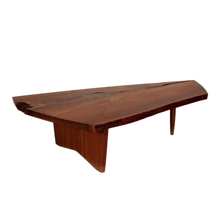George Nakashima Black Walnut Coffee Table At 1stdibs