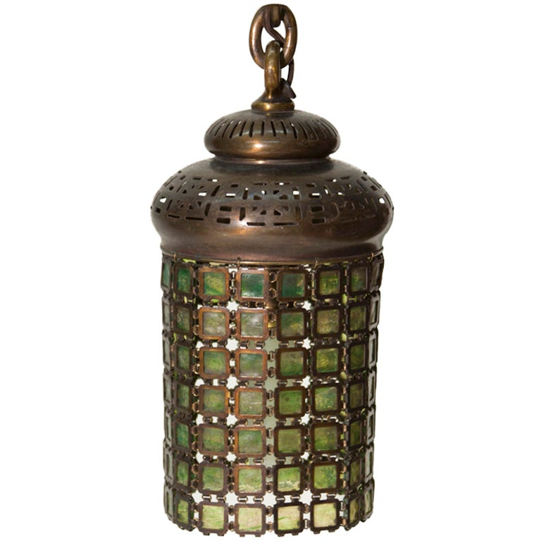 Tiffany Studios Chainmail Lantern At 1stdibs