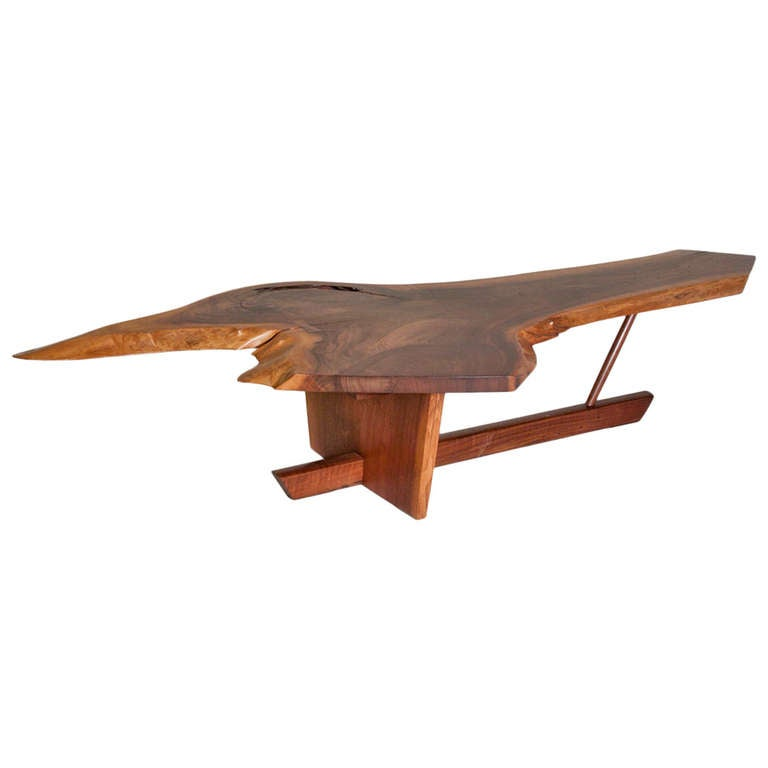 George Nakashima Minguren Coffee Table At 1stdibs