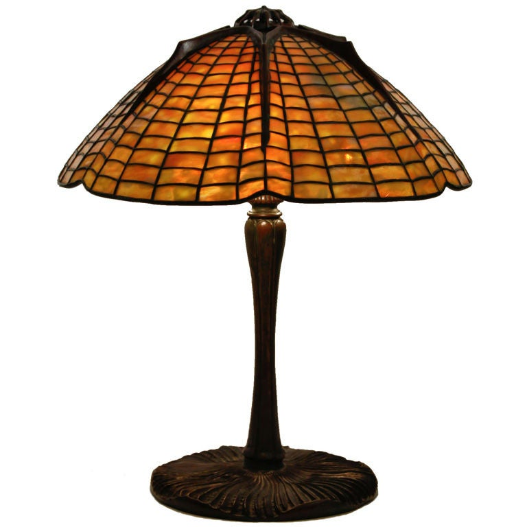Tiffany studios spider lamp at 1stdibs for What is a spider lamp