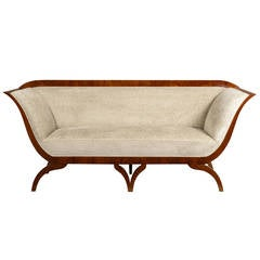 Biedermeier Sofa Attributed to Josef Danhauser