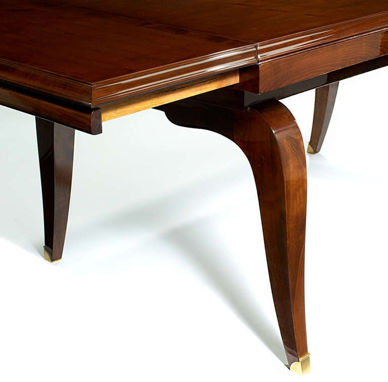 Art deco extendable dining table image 3 - Art deco dining room table ...