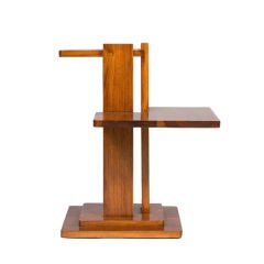 Modernist Two-Tiered Side Table