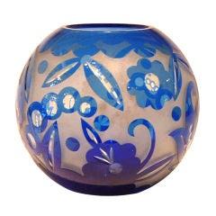 An Art Deco Vase