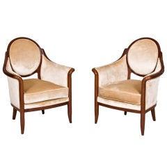 Art Deco Style Armchairs by ILIAD Design