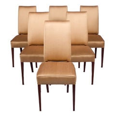 French Modernist Dining Chairs