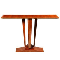 French Modernist Style Console Table by ILIAD Design