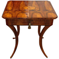 Biedermeier Single-Drawer sewing Table