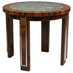 Art Deco Occasional Table by DIM 'Joubert Et Petit'