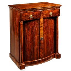 A Biedermeier Two Door Commode