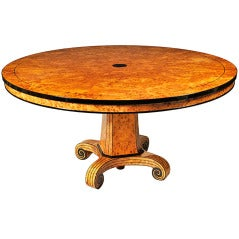Biedermeier Style Extendable Dining Table by Iliad Design