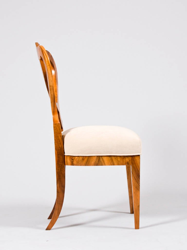 Pair Of Biedermeier Chairs Attributed To Josef Danhauser For Sale At 1stdibs