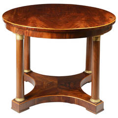Biedermeier Center Hall Table