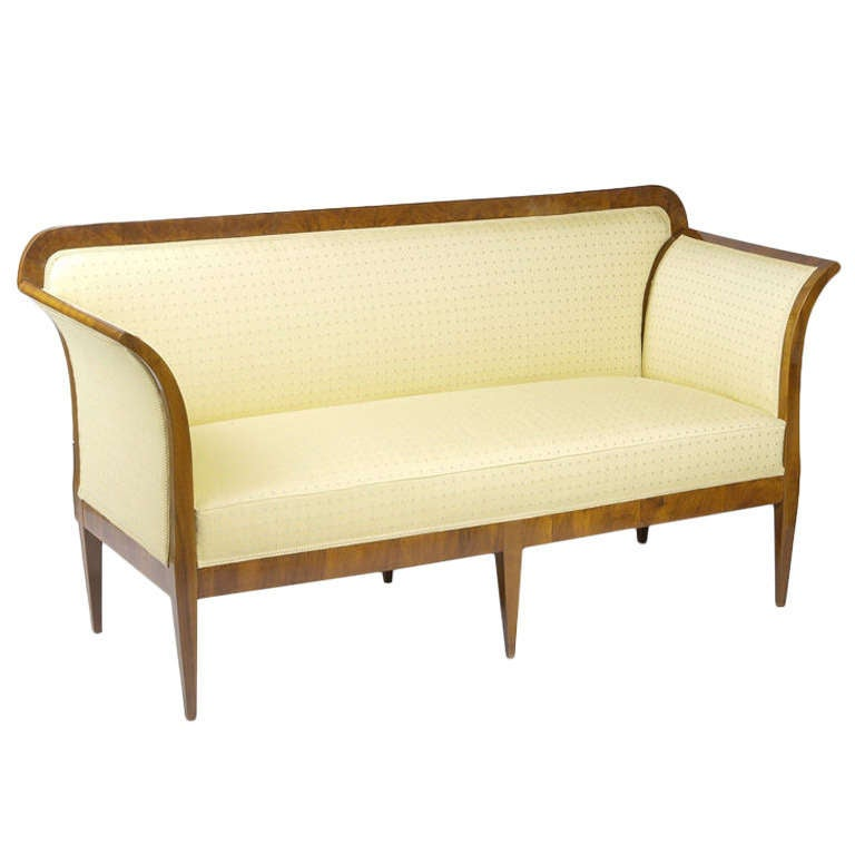 Elegant convertible biedermeier sofa for sale at 1stdibs Biedermeier sofa