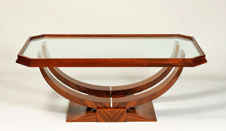 Art Deco Style Coffee Table By Iliad Design For Sale At 1stdibs