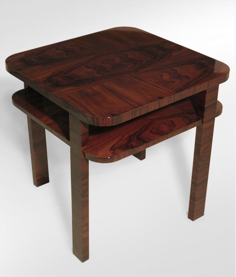 A constructivist art deco occasional table for sale at 1stdibs for Table de nuit art deco