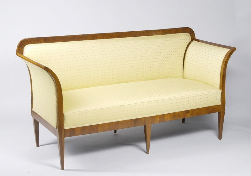 An Elegant Convertible Biedermeier Sofa At 1stdibs