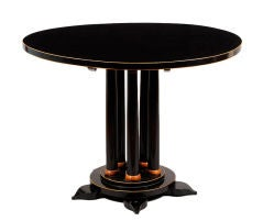 A Biedermeier Pedestal Table