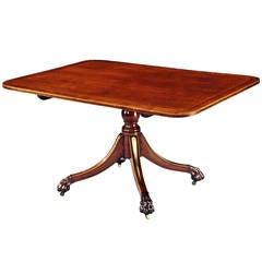 Regency Period Breakfast Table