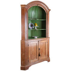 18th Century Georgain Period Open Corner Cupboard