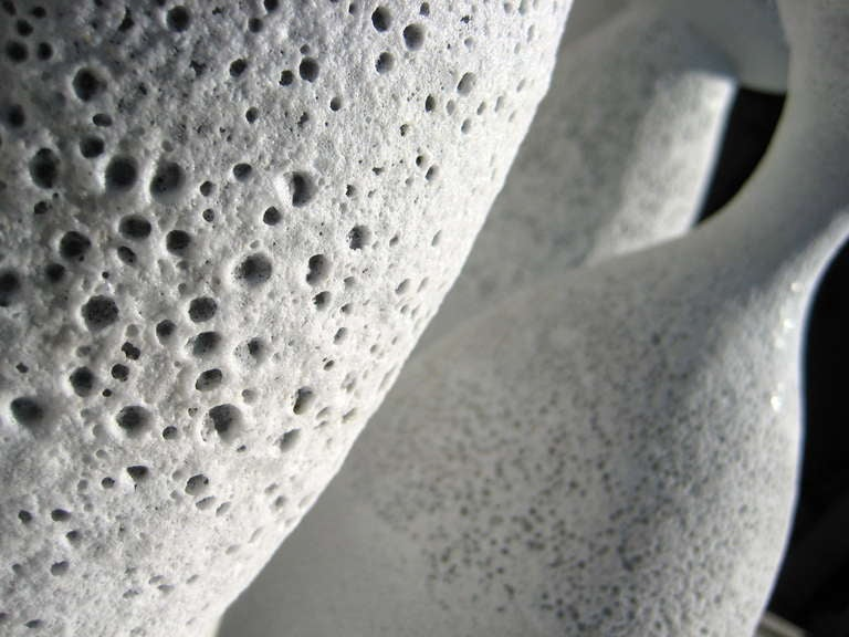 Group of Seven Crater Glazed Vessels by American Artist Jeremy Briddell 4