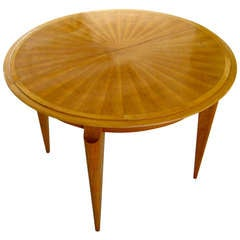 Mid-20th Century, French Cherry Wood Dining Table, circa 1950s