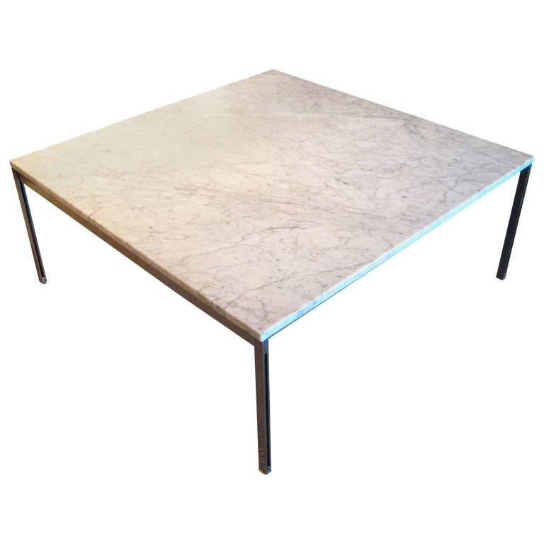 Handsome Florence Knoll Parallel Bar Coffee Table Circa 1960 At 1stdibs