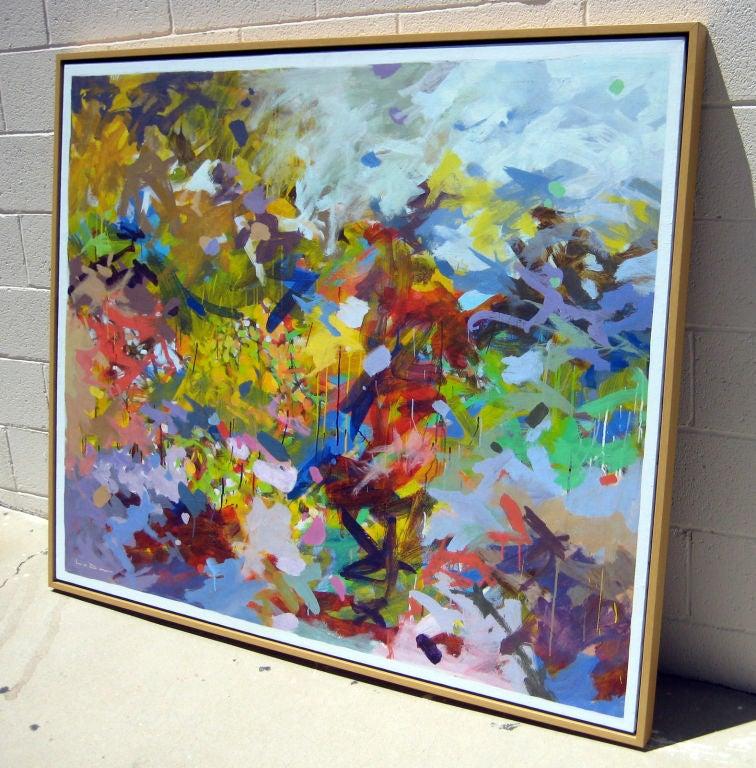 "Professional Guaranteed House Painting Western Springs: ""Spring"" A Painting By Santa Barbara Artist Richard La Dow"