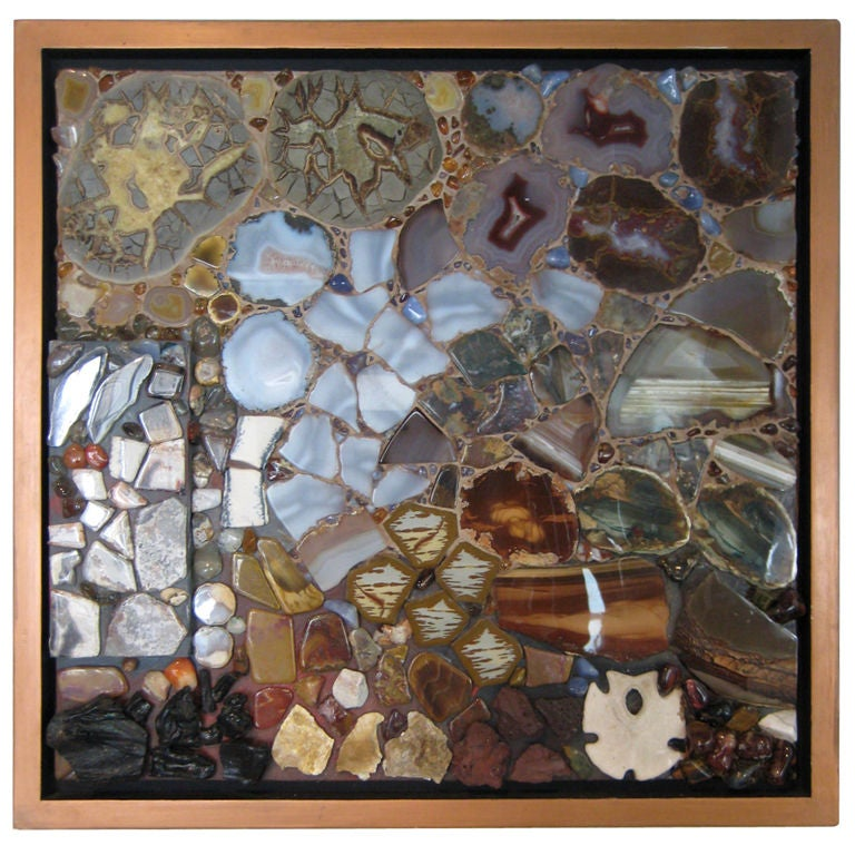 Mosaic Wall Hanging By Miriam Rogers At 1stdibs