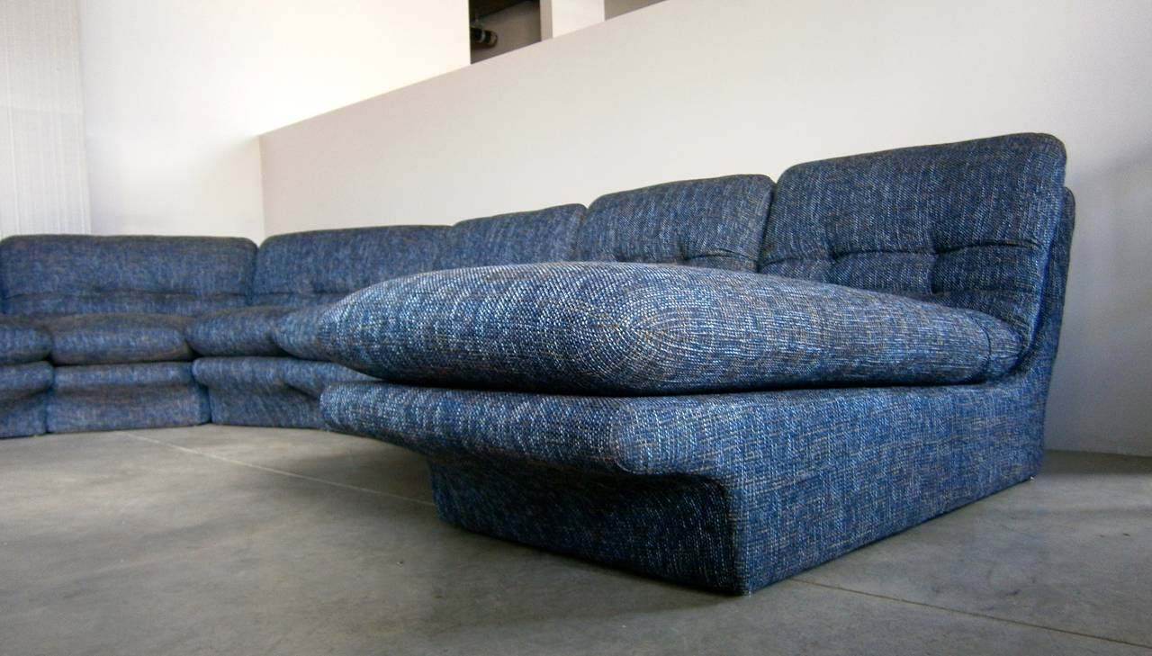 Flexible Nine Part Sectional Sofa Designed By Vladimir
