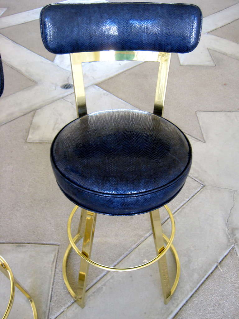 The Quot Johnny Mathis Quot Swiveling Counter Stool By Charles