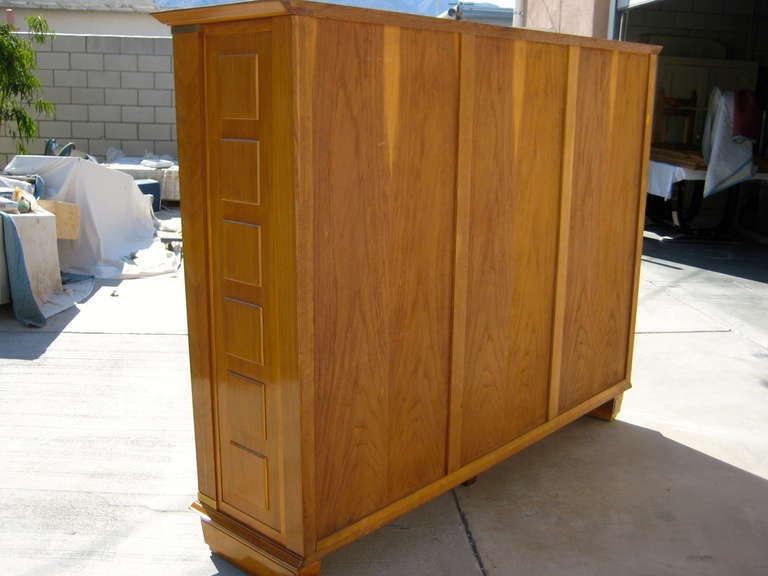 Three door cabinet by dominique circa 1940s for sale at for 1940s kitchen cabinets for sale
