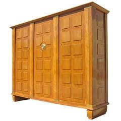 Three-Door Cabinet by Dominique, circa 1940s