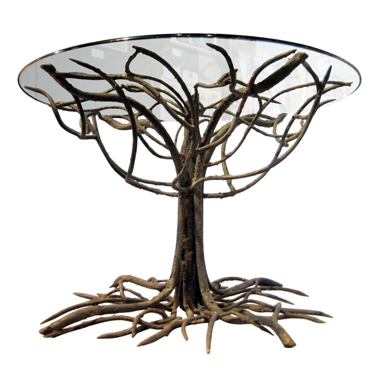An outstanding wrought iron quottree formquot table base w  : XXX890813442091911 from www.1stdibs.com size 768 x 768 jpeg 75kB