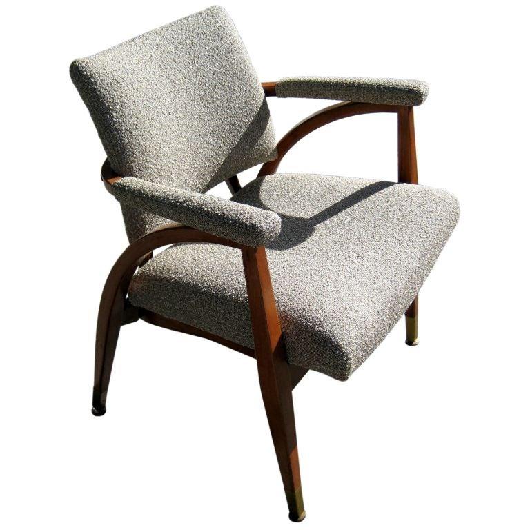A North Carolina Arm Chair Circa 1949 by Boling Chair Co