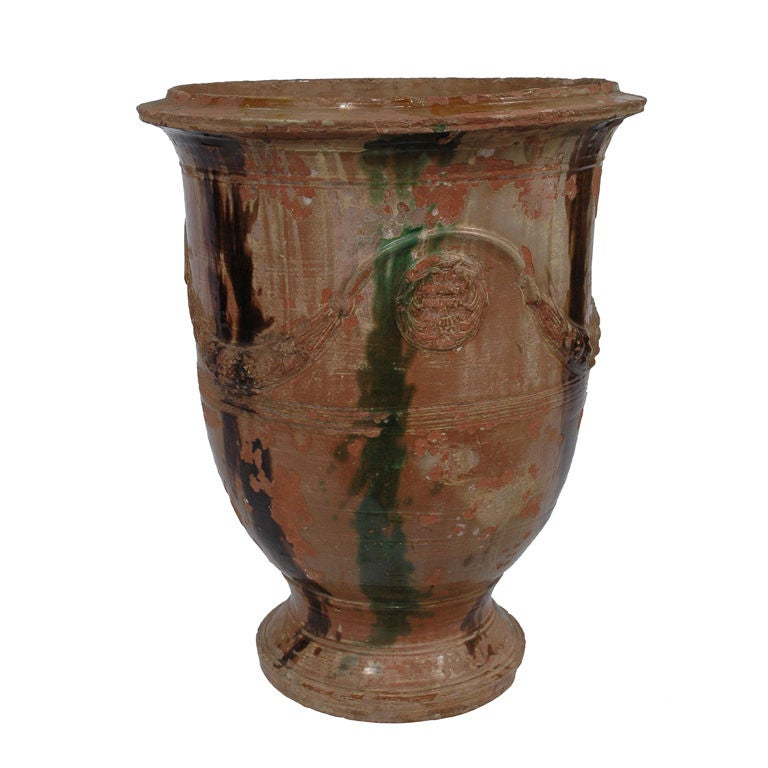 French anduze urn at 1stdibs - Planters contact provence ...