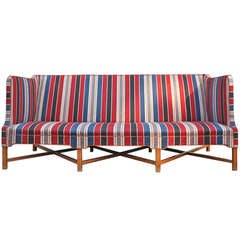 Kaare Klint Large Striped Sofa