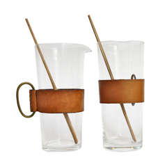 Two Portion Size Martini Stirrers by Carl Auböck