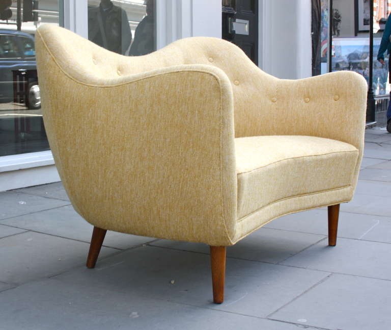 Finn Juhl Original BO 46 Sofa For Sale 1