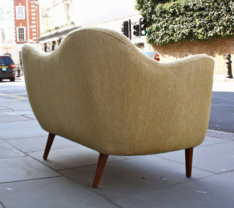 Danish Finn Juhl Original BO 46 Sofa For Sale