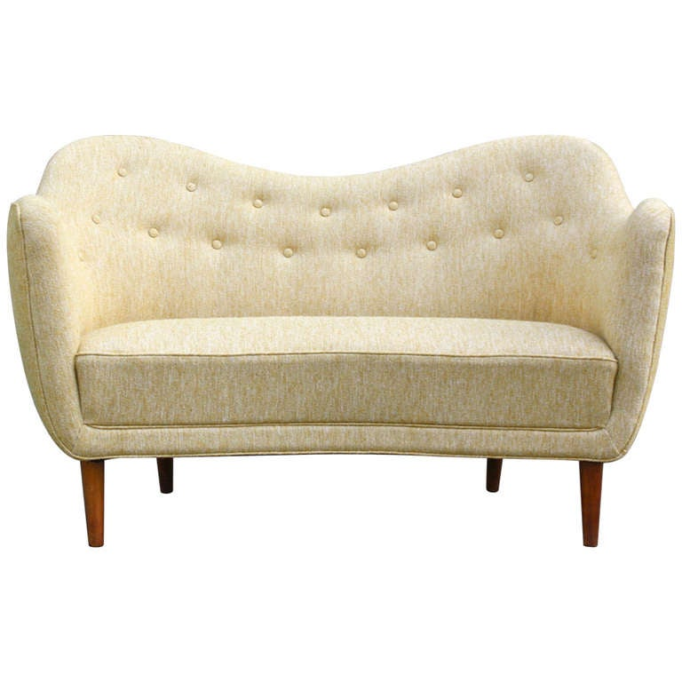 Finn Juhl Original BO 46 Sofa For Sale