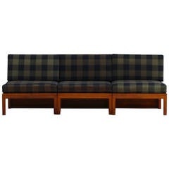 Mogens Koch Three-Piece Modular Sofa