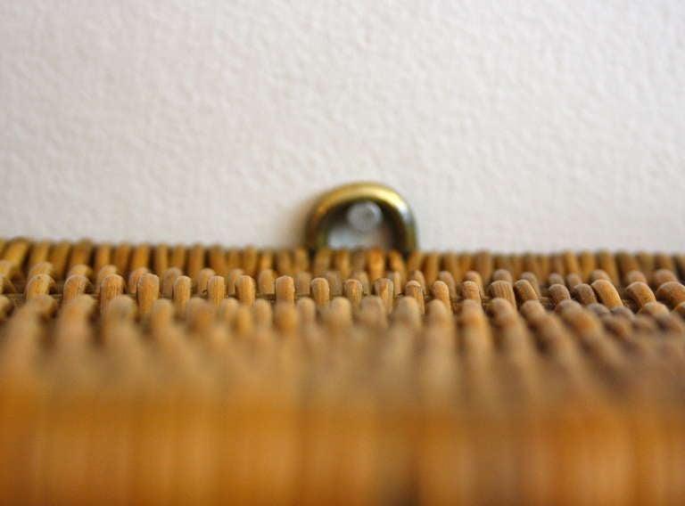 Carl Auböck Brass & Wicker Shelf 6