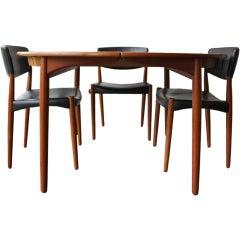 Einar Larsen & Bender Madsen Dining Room Suite
