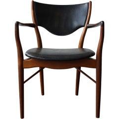 Finn Juhl Rosewood Armchair