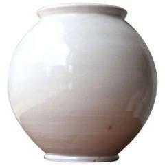 Exceptional Very Large Kaehler Floor Vase